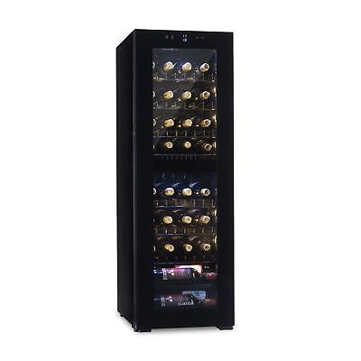 Wine Cooler Fridge Refrigerator drinks chiller105l 39 Bottle free standing Black