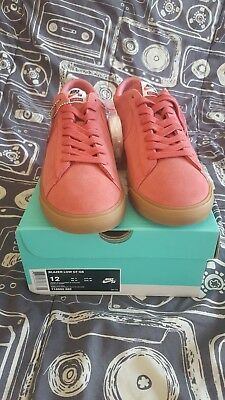 f4c9be6c1f98 NDS NIKE SB Blazer Low GT QS Supreme Pink Red Size 13 -  140.00 ...