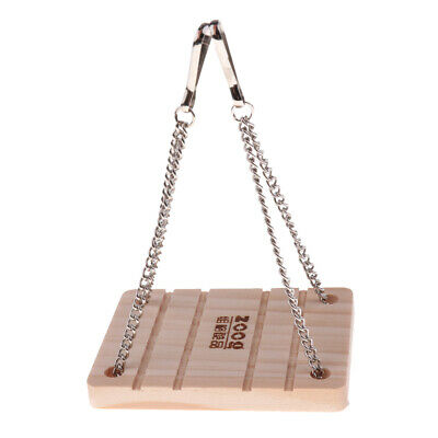 Wood Swing for Pet Hamster Gerbil Rat Mouse Chinchilla Small Animal Cage Toy