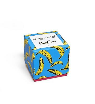 Happy Socks - Andy Warhol Gift Box - Unisex - Pack Of 4
