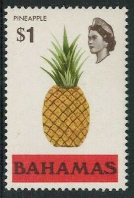 Lot 5151 - Bahamas – 1971 mint never hinged $1 Pineapple QEII definitive stamp