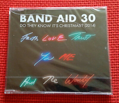 Band Aid 30 - Do They Know Its Christmas 2014 CD-Brand new sealed
