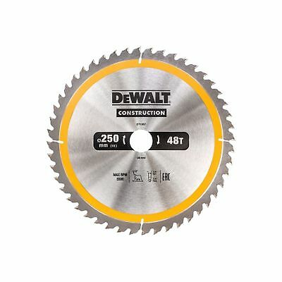 DEWALT DT1957 1 lame 250mm 48 dents pour scie sur table DW744 DW745 TVA Incluse