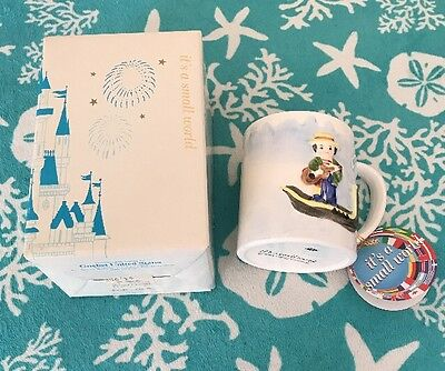 "Vintage WALT DISNEY ""it's a small world"" Collector Coffee Mug by Goebel NEW••"