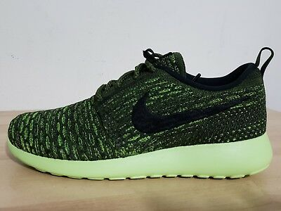 af4de178f998 Women s NIKE ROSHE ONE FLYKNIT sz 8 Athletic Shoes Rough Green 704927 301
