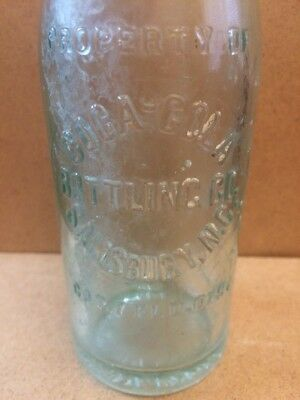 Straight Sided Coca-Cola Embossed Soda Bottle Salisbury, Nc North Carolina