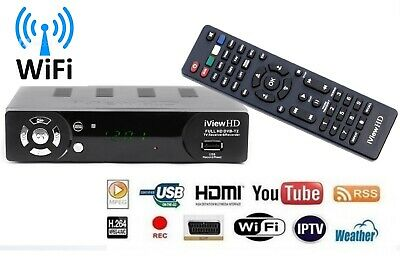 NEW Freeview HD Wifi Receiver &1080P Recorder DIGITAL TV Set Top Box Terrestrial
