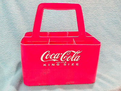 Vintage Coca Cola King Size Bottle Carrier