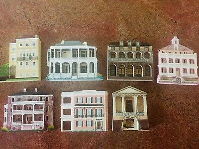 7 Sheila's Wooden Shelf Art Houses all Charleston, SC