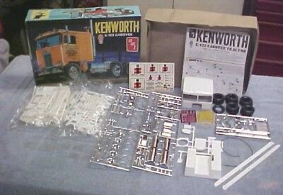 AMT 1/25 70's KENWORTH K-123 CAB OVER TRUCK TRACTOR KIT # T-520 UNASSEMBLED
