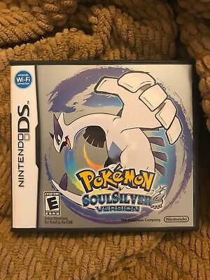 Pokemon Soul Silver DS CASE ONLY with Instructions