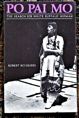 Hopi Indian PO PAI MO Search for White Buffalo Woman SIGNED by Robert Boissiere