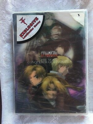 Full Metal Alchemist, The Movie - Conqueror of Shamballa NEW SEALED FREE SHIP