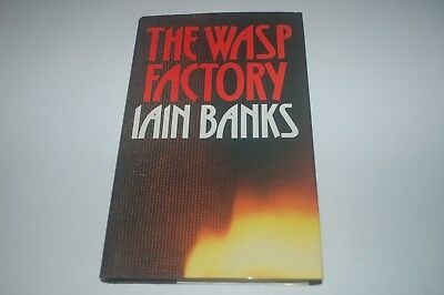 Iain Banks Wasp Factory True 1St Edition First Print Hardback Book