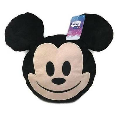Disney Mickey Mouse Emoji Plush Pillow Brand New In Hand To Ship