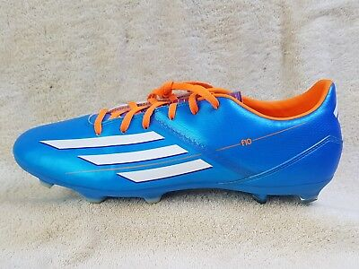 huge discount 4e54c df6e4 Adidas F10 TRX FG mens Footbal boots BlueOrangeWhite UK 11 EU 46