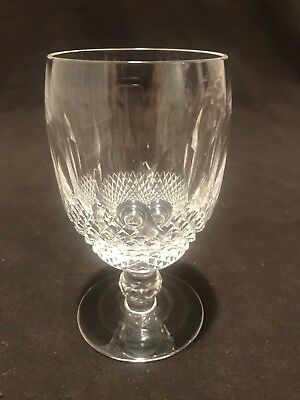 "Waterford Crystal Colleen Large Claret Wine Glass 5 1/4"" H Individually Sold"
