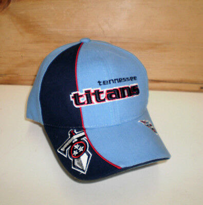 Brand New Adult Nfl Tennessee Titans Embroidered Adjustable Team Cap Hat  Osfa 4a1c9c21163c