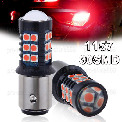 20X Red 1157 1154 LED REPLACEMENT TOWER LIGHT BULBS 13SMD 5050 2057 1034 1076 #C
