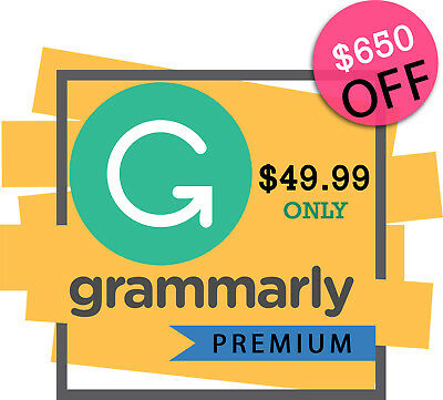 Grammarly Premium LIFETIME + 5 Yrs Warranty | Private & Belongs to You Only ✅