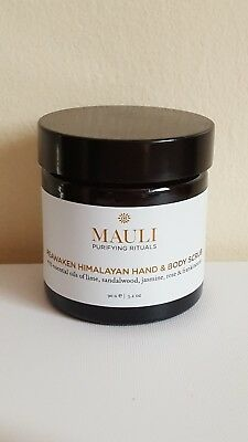 Mauli Reawaken Himalayan Hand and Body Scrub 90g, new