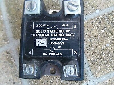 RS Solid State Relay A2545