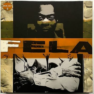 Fela Kuti - Fela Box Set 2  6 LP Box Set  France 1997  Barclay 547 136-1