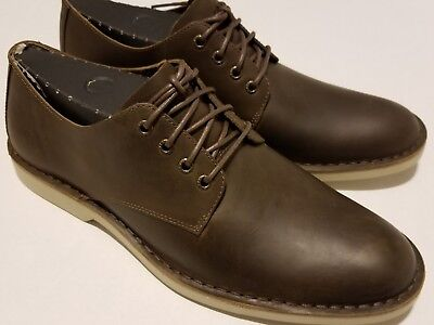 e23e24ae2 Sperry Top-Sider Harbor Oxford Plain Toe Leather Brown MEN'S SZ ...