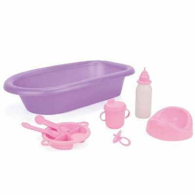 Real Life Doll Baby Bath Time Set Accessories Girls Toy Gift Play Fun New