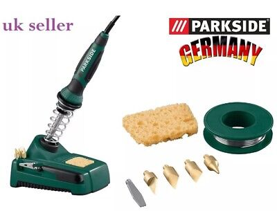 New Parkside Soldering Iron Set 30W PLBS 30 B2