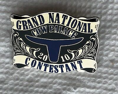 Grand National Cow Palace 2010 Contestant Rodeo PIN