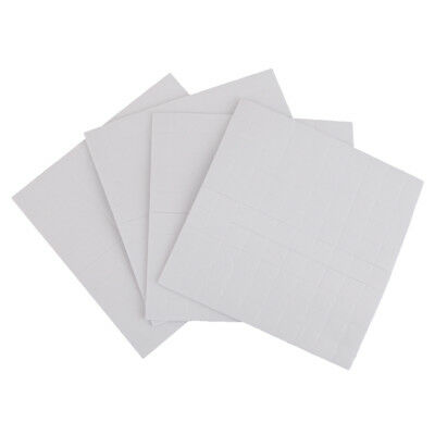 400 Sheets Self Adhesive Double Sided Foam Pads Sticky Fixer 3D Effect 1.5mm