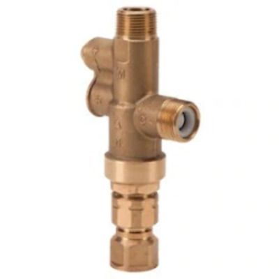 "Taco 5123-WH-N3 Direct Mount Water Heater Mixing Valve (Low Lead) -  3/4"" NPT Un"