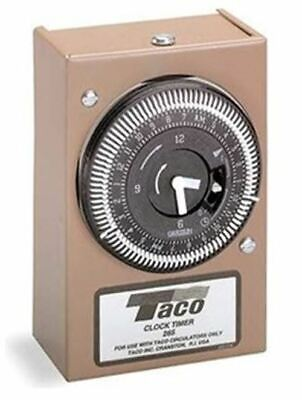 Taco 265-1 Analog Timer with Dust Cover