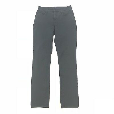 NYDJ Not Your Daughters Jeans Womens Legging Jeans Charcoal Grey Size 4