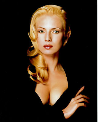 GLOSSY PHOTO PICTURE 8x10 Traci Lords Busty Black Dress