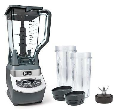 Blender Ninja Professional BL660 1100W 3 Speed Single-Serve Cups Smoothies New