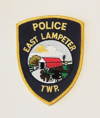 East Lampeter Township Pa Police Covered Bridge Patch
