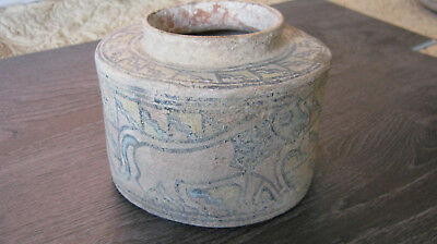 Ancient Indus Valley Terracota Pot Approximately 2500 Years Old