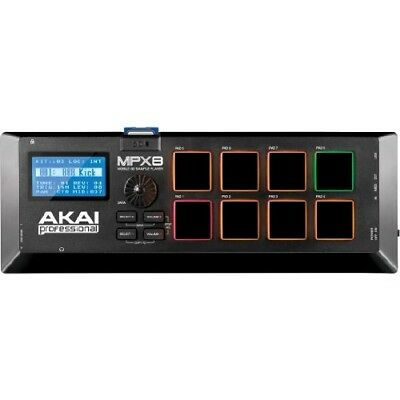 AKAI Professional MPX8 Portable Sample Pad Controller with 8 Performance-Ready