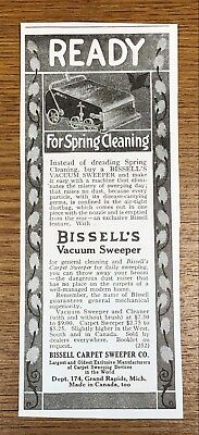 Bissell Vacuum Sweeper 1916 Advertisement Bissell Carpet Sweeper Company