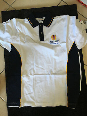"""Fosters Sydney 2000 Olympic Games Official Beer S/S Polo Shirt """"NOS"""" Bonds"""