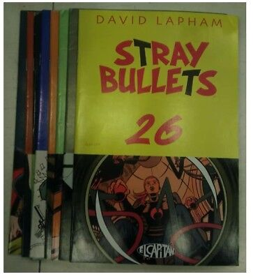 Stray Bullets, Issues 26-33, by David Lapham, El Captain