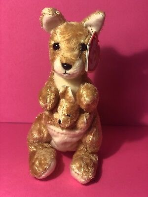 15880bb00bf TY BEANIE BABY ~ RICOCHET the Kangaroo ~ MINT with MINT TAGS ...