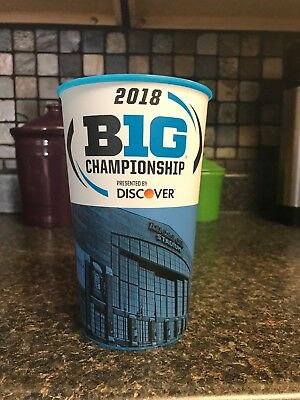 Ohio State Buckeyes Stadium Collector Cup. 2018 Big Ten Championship vs NW