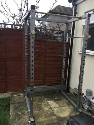 Power rack cage