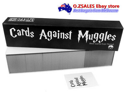 Cards Against Muggles Funny Party Cards Board Game Melbourne EXPRESS NEXT DAY