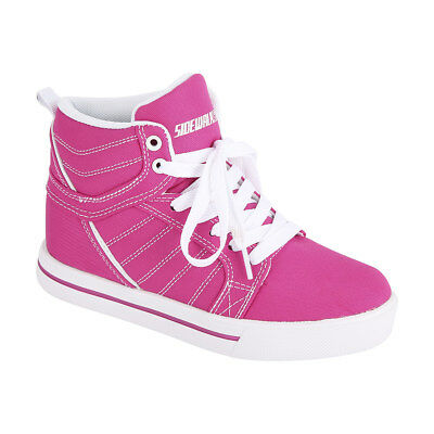 Sidewalk Sports Size 2 Pink High Top Skate Shoes