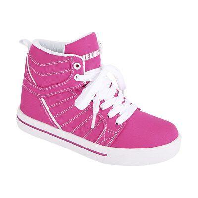 Sidewalk Sports Size 3 Pink High Top Skate Shoes