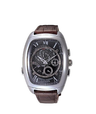 Citizen Campanola Grand Complication Stainless Steel Men's Watch AG6210-03E RARE